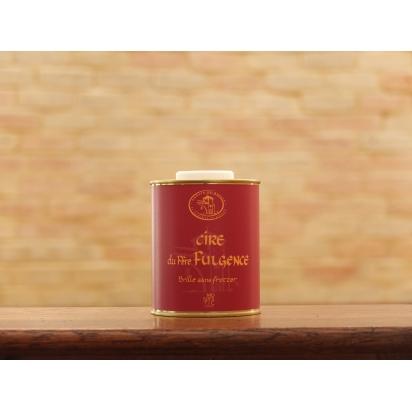 Cire du PERE FULGENCE 0.5 Litre (le bidon de petite taille - etiquette ROUGE) - Brille sans frotter de Entretien du bois & Cires