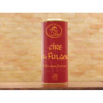 Cire du PERE FULGENCE 1 Litre (le bidon de taille moyenne - etiquette ROUGE) - Brille sans frotter de Entretien du bois & Cires