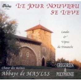 CD Le Jour Nouveau se lève - Chants religieux, grégorien - moines de Musiques religieuses