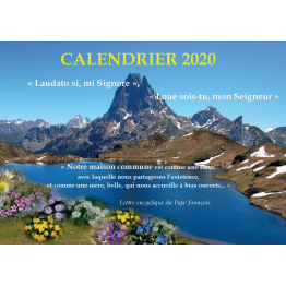 Calendrier 2020 de Agendas & Bloc notes