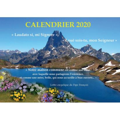 Calendrier 2020 de Agendas & Bloc notes