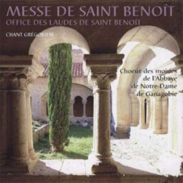 CD - Messe St Benoit-Chant grégorien