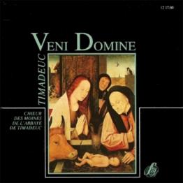 CD - Veni Domine-Choeur de l'Abbaye de Timadeuc