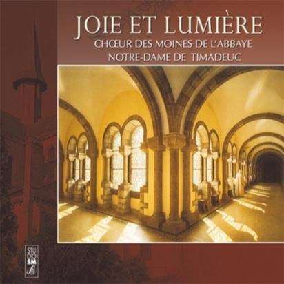 CD - Joie et lumière-Choeur de l'Abbaye de Timadeuc de Musiques religieuses