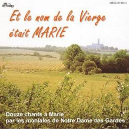 CD - Et le nom de la Vierge était Marie de Musiques religieuses