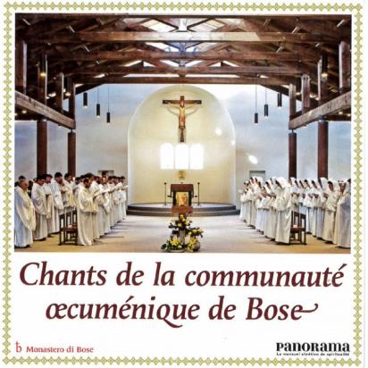 Chants de la communauté oecuménique de bose de Musiques religieuses