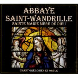 CD - Saint Marie mère de Dieu - chant grégorien et orgue