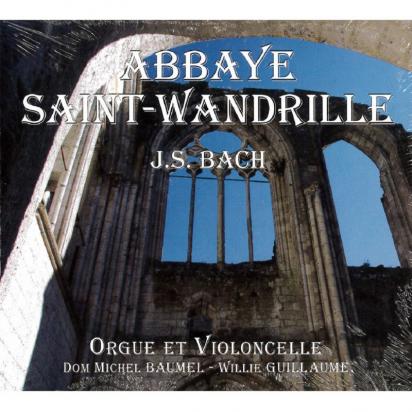 CD - J.S. BACH - Orgue et violoncelle de Musiques religieuses