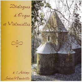CD - Dialogue d'orgue et violoncelle