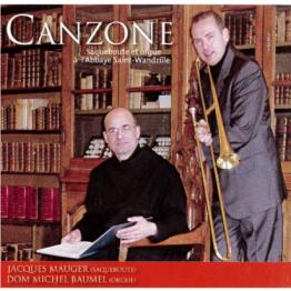 CD - Canzone - Orgue et saqueboute à l'abbaye Saint-Wandrille
