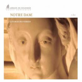 CD - Notre Dame : Liturgie des Vierges