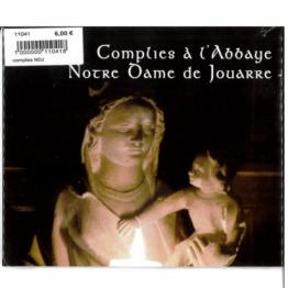 CD - Complies à l'Abbaye Notre Dame de Jouarre
