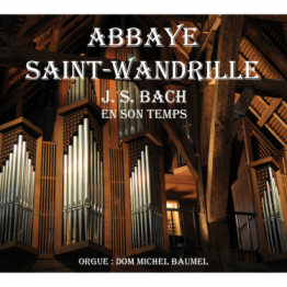 CD - J.S. BACH en son temps, orgue