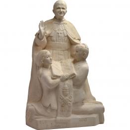 Statue de saint Jean-Paul II, Pape des familles