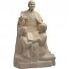Statue de saint Jean-Paul II, Pape des familles de Les Papes
