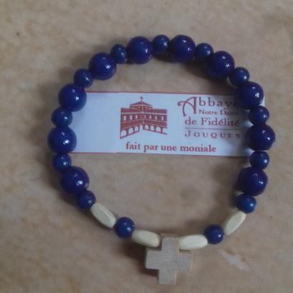 Dizainier bleu en bois pour femme