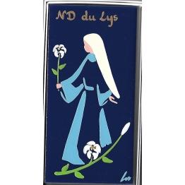Céramique Notre du Lys, peinte à la main et personnalisable