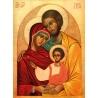 Icône de la sainte Famille de Icônes contemporaines