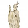 Statue de saint Jean-Paul II de Les Papes