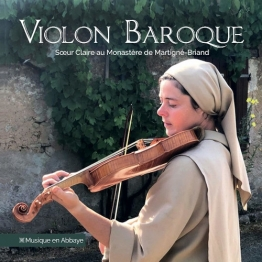 CD VIOLON BAROQUE, Sœur Claire Cachia de Enregistrements audio