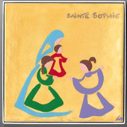 Céramique de Sainte Sophie de Les Saints-Patrons