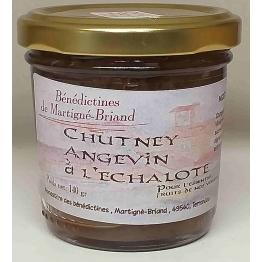 CHUTNEY ANGEVIN A L'ECHALOTE, 140 gr