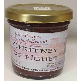 CHUTNEY AUX FIGUES, 140 gr