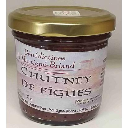 CHUTNEY AUX FIGUES, 140 gr de Epices & condiments