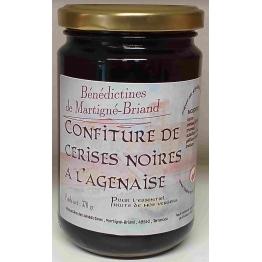 CONFITURE DE CERISES NOIRES A L'AGENAISE, 370 gr