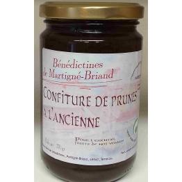 CONFITURE DE PRUNES A L'ANCIENNE, 370 gr de Confitures & Miels