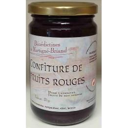 CONFITURE DE FRUITS ROUGES, 370 gr