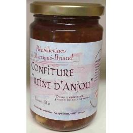 CONFITURE DE POMMES «REINE D'ANJOU», 370 gr