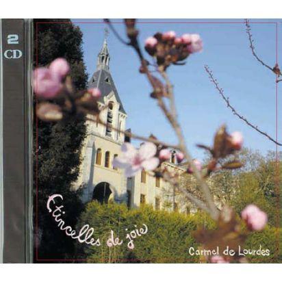 v) Double CD de chants au Carmel de Lourdes : Etincelles de joie de Enregistrements de prières