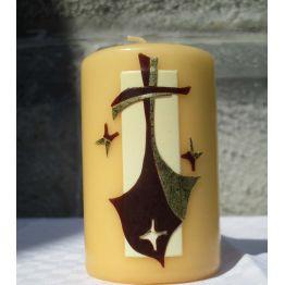 m) Bougie Croix du Carmel de Bougies