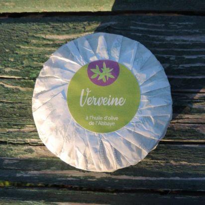 savon aux feuilles de verveine enrichi à l'huile d'olive de Douche