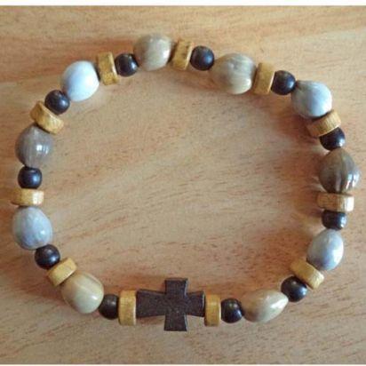 Bracelet dizainier Fratelli tutti de Pour ma prière