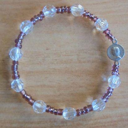 Bracelet dizainier Partout avec Marie de Pour ma prière