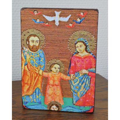 Icône La Sainte Famille - Dim 105x150mm de Pour ma prière