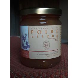 confiture de poire-citron, 240g de Confitures & Miels