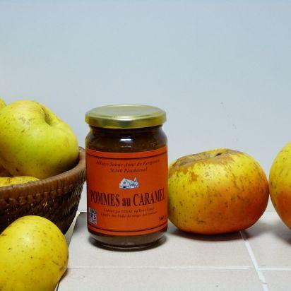 Préparation Pommes-Caramel de Confitures & Miels