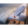 couette naturelle été en duvet de canard - série Ivoire légère de Literie & Linge de lit