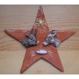 bas-relief de Crèches de Noël