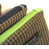Pochette Pied de Poule Zip vert Anis de Trousses & Accessoires