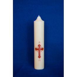 Cierge pascal pour prier chez soi