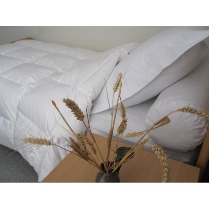 Couette naturelle mi-saison en duvet d'oie - série Nacre tempérée de Literie & Linge de lit