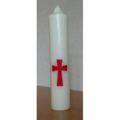 Cierge Croix de Pour ma prière