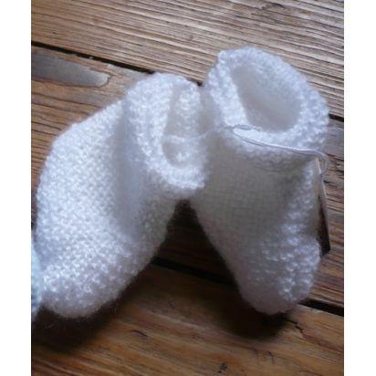 zzz) Chaussons blancs