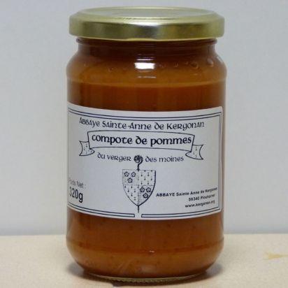 Compote extra de Pommes - 320 g de Compote et bocaux de fruits au naturel