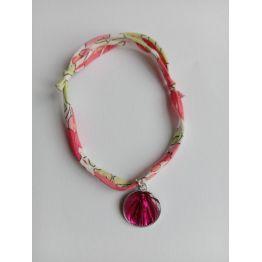 Bracelet liberty fraise de Médailles
