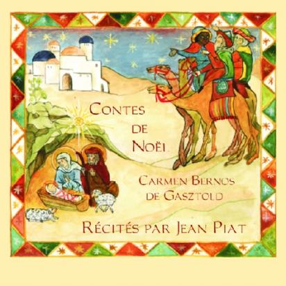 Contes de Noël CD récités par Jean Piat de Carmen Bernos de Gasztold de Enregistrements audio